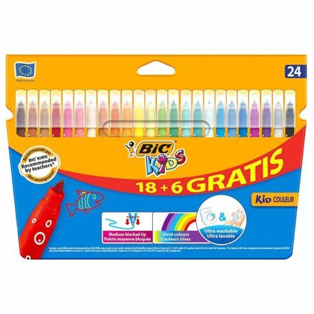 Rotuladores BIC Kids 24 colores